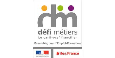 Logo Défi Métiers carif-oref francilien