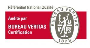 Logo Bureau Veritas Certification pour l'audit de Reférencement National Qualité Qualiopi