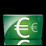 Icone de la monnaie euros